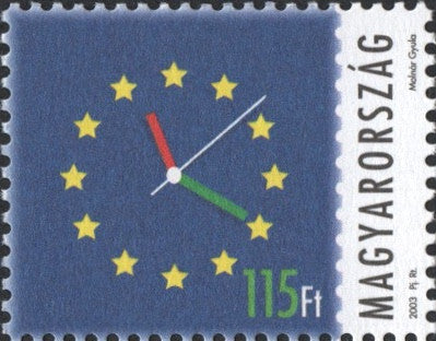 #3858-3859 Hungary - 2003 European Union Membership, Set of 2 (MNH)