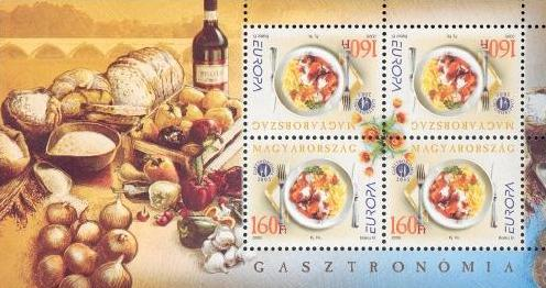 #3936 Hungary - 2005 Europa: Gastronomy S/S (MNH)