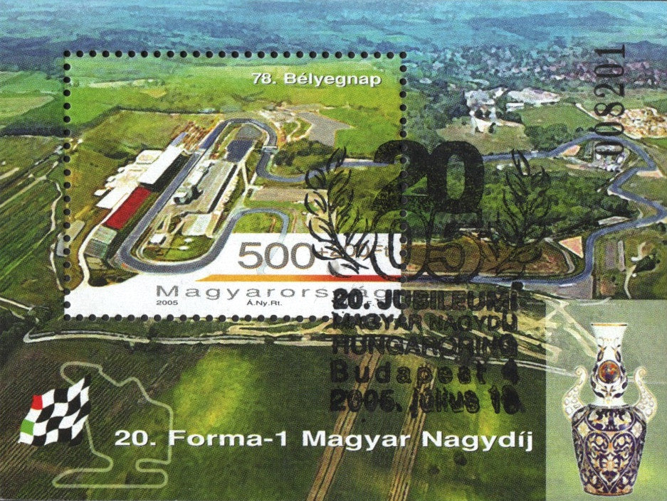 #3947 Hungary - Stamp Day S/S (Used)