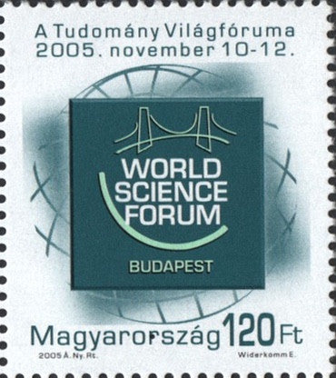 #3953 Hungary - 2005 World Science Forum, Budapest (MNH)