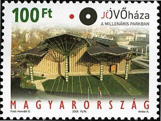 #3957 Hungary - House of the Future (MNH)
