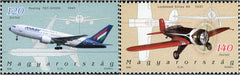 #3968-3969 Hungary - Airplanes Type of 2002 (MNH)