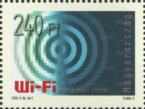 #3975 Hungary - Wi-Fi Technology (MNH)