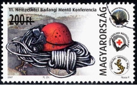 #4034 Hungary - 11th Intl. Cave Rescue Conference, Aggtelek-Jósvafő (MNH)