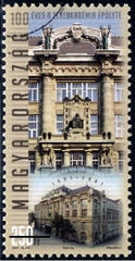 #4035 Hungary - Academy of Music Building, Budapest, Cent. (MNH)