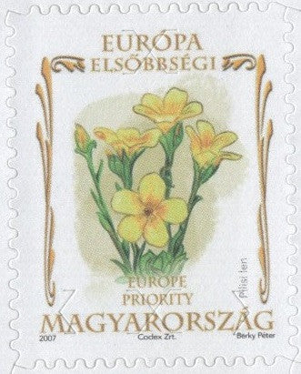 #4048-4049 Hungary - Flowers, Set of 2 (MNH)