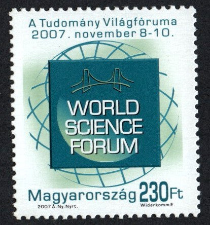 #4052 Hungary - World Science Forum Type of 2005 Redrawn (MNH)