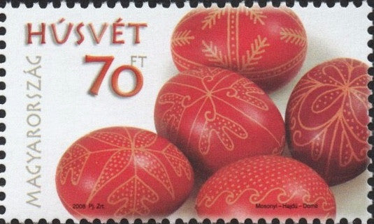 #4055 Hungary - 2008 Easter (MNH)