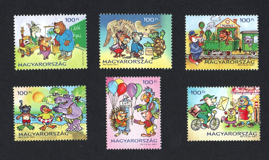 #4082-4087 Hungary - Philavillage II, Set of 6 (MNH)