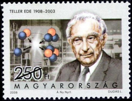 #4100 Hungary - Edward Teller, Nuclear Physicist (MNH)