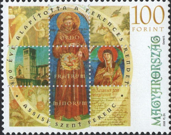 #4106 Hungary - Franciscan Order, 800th Anniv. (MNH)