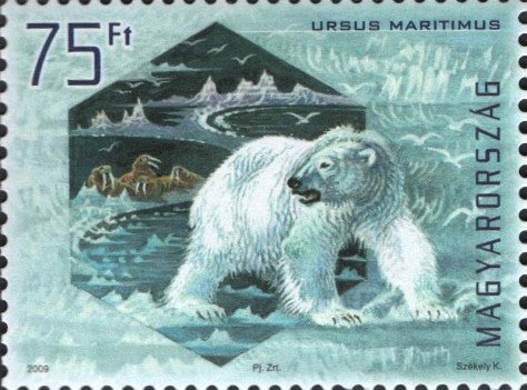 #4109-4112 Hungary - Preservation of Polar Regions and Glaciers (MNH)