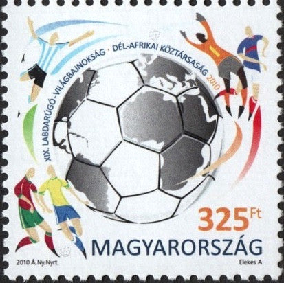#4160 Hungary - 2010 World Cup Soccer Championships, South Africa (MNH)
