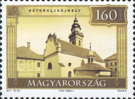 #4186-4187 Hungary - 2011 Tourism I, Set of 2 (MNH)
