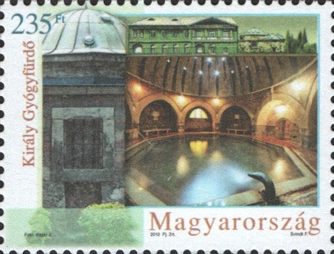 #4227-4228 Hungary - Health Tourism: Spas II (Budapest Baths) (MNH)