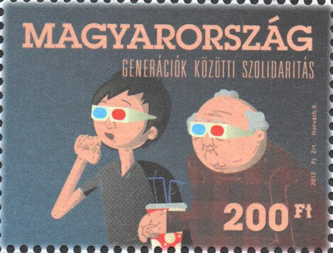 #4243 Hungary - Solidarity Between Generations (MNH)