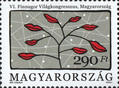 #4256 Hungary - Sixth World Congress of Finno-Ugric People, Siofok (MNH)