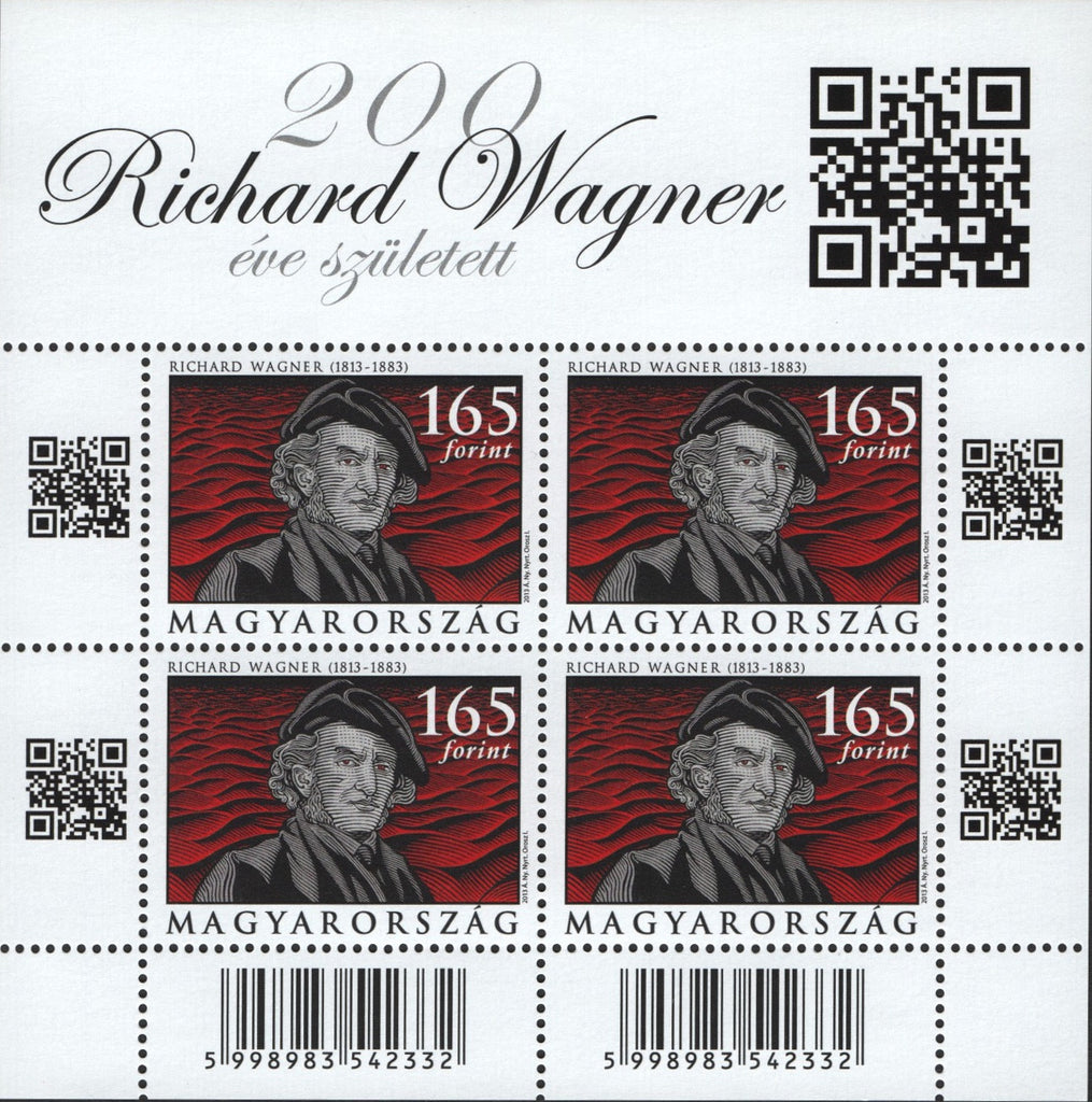 #4263-4264 Hungary - Composers M/S (MNH)