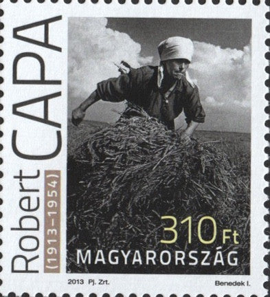 #4295 Hungary - Robert Capa, Single (MNH)
