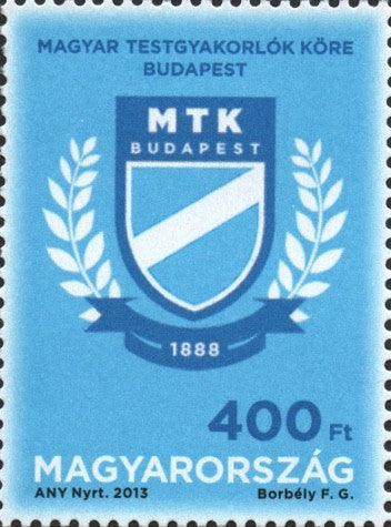 #4299 Hungary - MTK Sports Club, 125th Anniv. (MNH0
