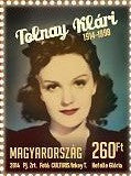 #4307 Hungary - Klári Tolnay, Actress, Single (MNH)