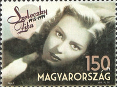 #4347 Hungary - Zita Szeleczky, Single (MNH)