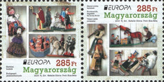 #4352 Hungary - 2015 Europa: Old Toys, Pair (MNH)