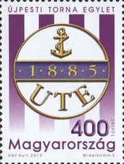 #4355 Hungary - Újpesti Torna Egylet Sports Club, 130th Anniv. (MNH)