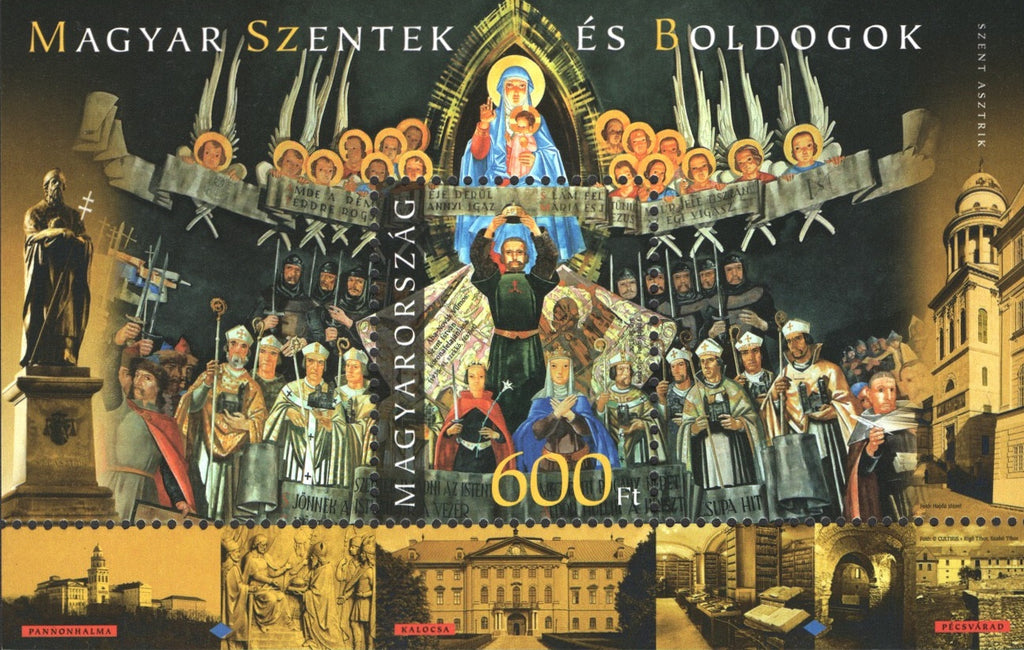 #4364 Hungary - 2015 Saints and Blesseds III - St. Astrik S/S
