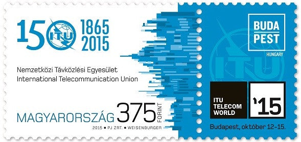 #4368 Hungary - International Telecommunication Union, 150th Anniv. (MNH)