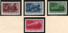 #785-788 Hungary - Centenary of Hungarian Railways (MNH)