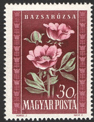 #906-910 Hungary - Flowers (MNH)