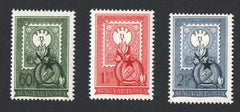 #973, B207-B208 Hungary - 80th Anniv. of 1st Postage Stamp, Set of 3 (MNH)