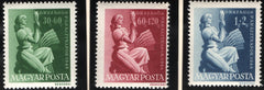 #B192-B194 Hungary - 1st Agricultural Congress and Exhibition (MNH)