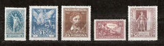 #B72-B76 Hungary - Birth Centenary of Sándor Petőfi (MNH)