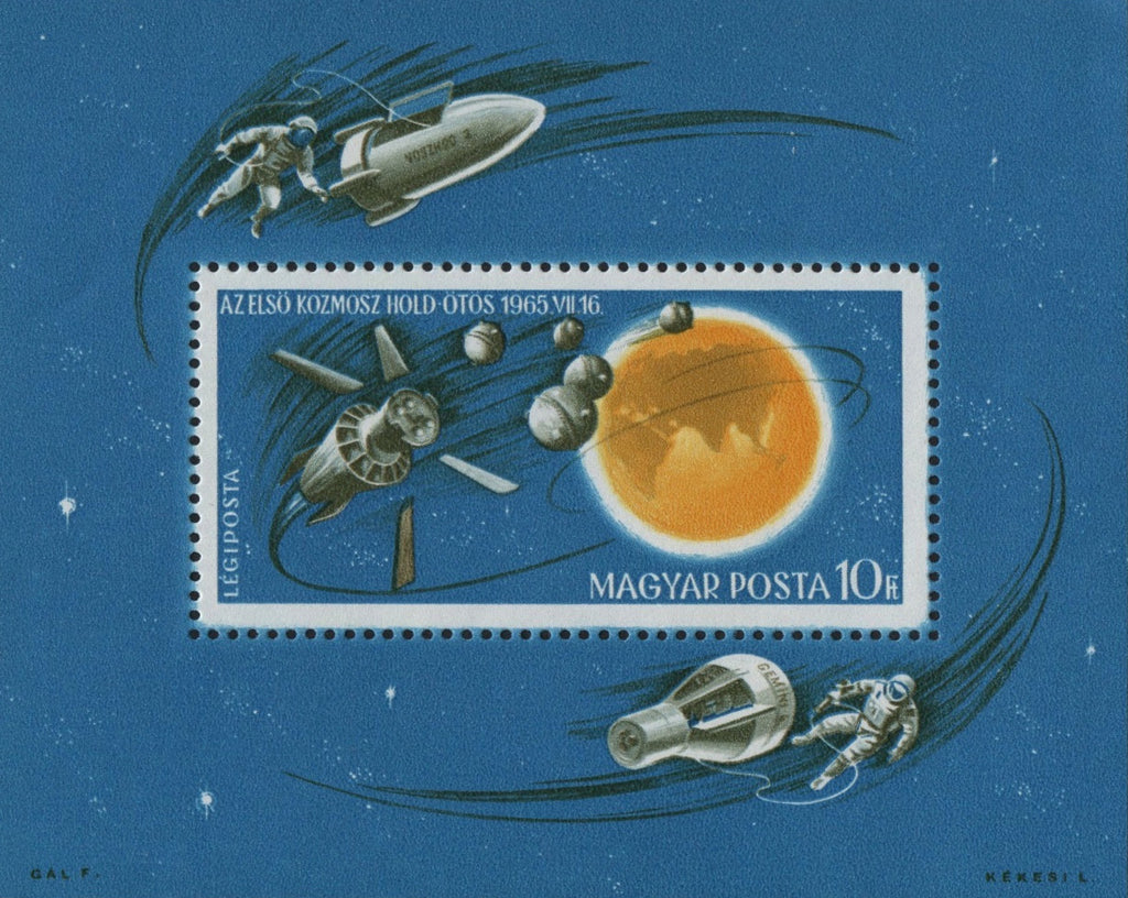 #C260 Hungary - New Achievements in Space Research S/S (MNH)