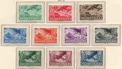 #C35-C44 Hungary - Airplanes (MNH)