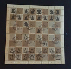 #3908 Hungary - 2004 Chess S/S (Used)