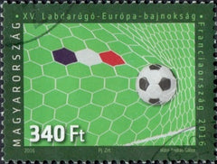 #4386 Hungary - 2016 European Soccer Championships, France (Used)