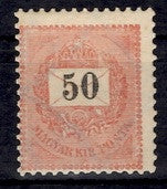 #46 Hungary - 1899 Numerals in Black (MLH)