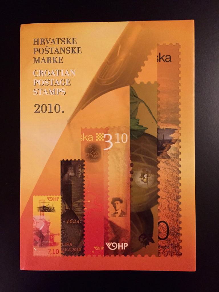 2010 Croatia Year Set (MNH)