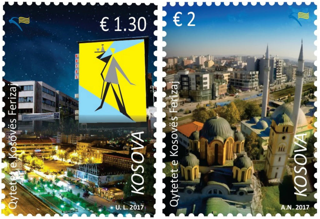 Kosovo - 2017 Cities, Set of 2 (MNH)