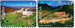Kosovo - 2017 Europa: Castles, Set of 2 (MNH)