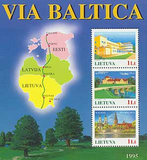 #509 Lithuania - Via Baltica (MNH)