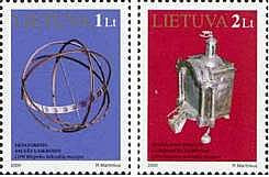 #666-667 Lithuania - Items From Klaipeda Clock Museum (MNH)
