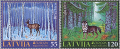 #779-780 Latvia - 2011 Europa: Intl. Year of Forests (MNH)