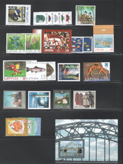 2004 Latvia Year Set (MNH)