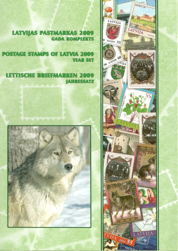 2009 Latvia Year Set + S/S (MNH)