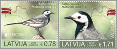 Latvia - 2019 Europa: National Birds, Set of 2 (MNH)
