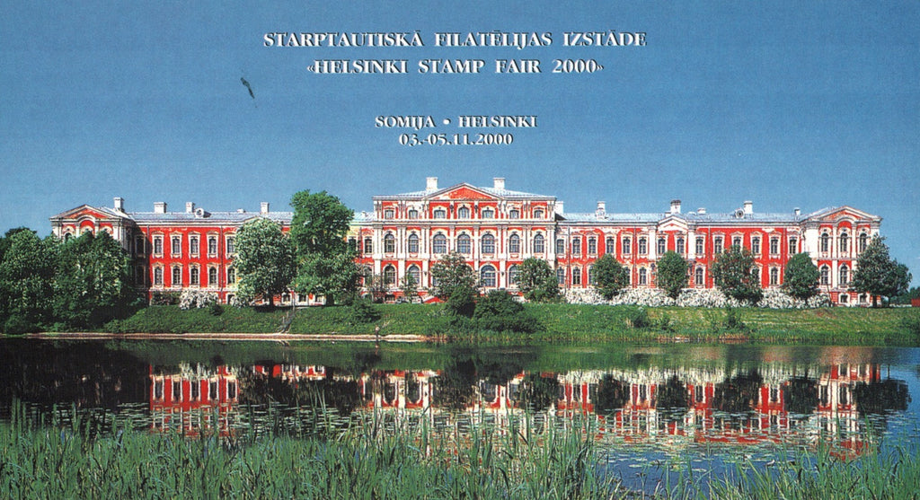 #512 Latvia - Palace Type of 1999, Complete Booklet (MNH)